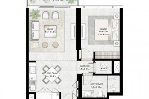 Продажа квартиры в Дубае, ОАЭ 1 спальня, 67м2, № 866 - фото 7