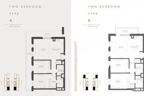 Продажа квартиры в Аль-Риме, Абу-Даби, ОАЭ 2 спальни, 103.09м2, № 1334 - фото 10