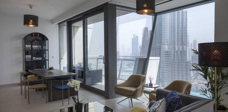 Квартира в Бурдж-Халифе, Дубай, ОАЭ 2 спальни, 82м2, №1478