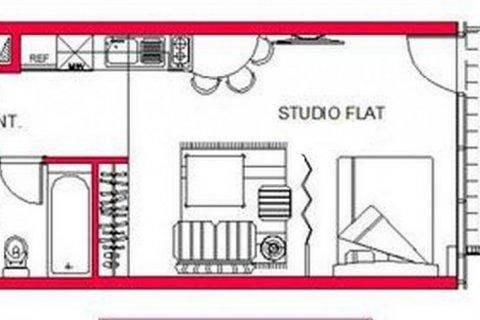 Продажа квартиры в Джумейра Лейк Тауэрс, Дубай, ОАЭ 45м2, № 1372 - фото 6