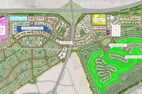 Продажа квартиры в Дубай Хилс Эстейт, Дубай, ОАЭ 2 спальни, 103м2, № 1600 - фото 13