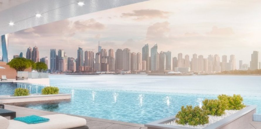 Квартира в Пальме Джумейре, Дубай, ОАЭ 3 спальни, 166м2, №1647