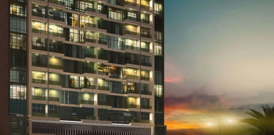 Квартира в Джумейра Вилладж Серкл, Дубай, ОАЭ 2 спальни, 120м2, №1615