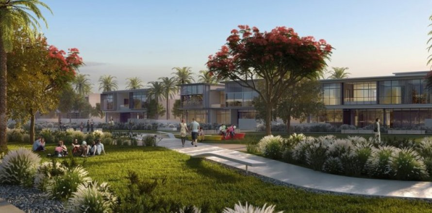 Вилла в Дубай Хилс Эстейт, Дубай, ОАЭ 4 спальни, 510м2, №1682