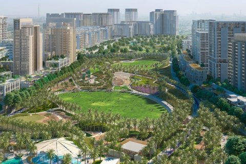 Продажа квартиры в Дубай Хилс Эстейт, Дубай, ОАЭ 3 спальни, 149м2, № 1560 - фото 12