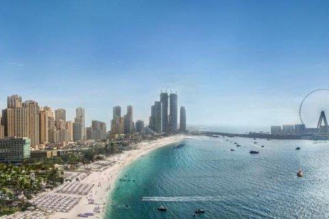 Продажа квартиры в Джумейра Бич Резиденс, Дубай, ОАЭ 3 спальни, 195м2, № 1396 - фото 1