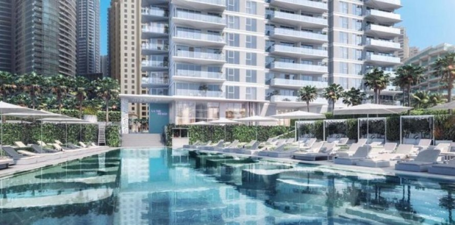 Квартира в Джумейра Бич Резиденс, Дубай, ОАЭ 4 спальни, 300м2, №1388