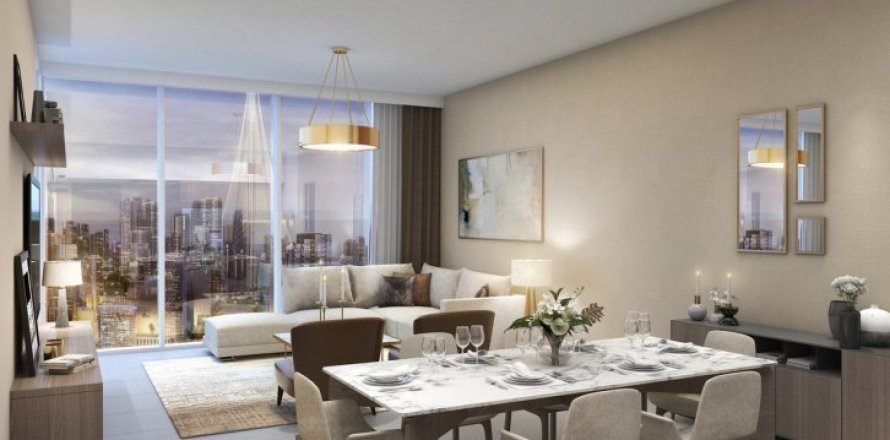Квартира в Dubai Creek Harbour (The Lagoons), Дубай, ОАЭ 4 спальни, 212м2, №1451