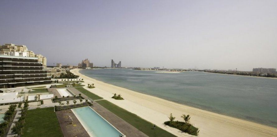 Квартира в Пальме Джумейре, Дубай, ОАЭ 2 спальни, 145м2, №1535