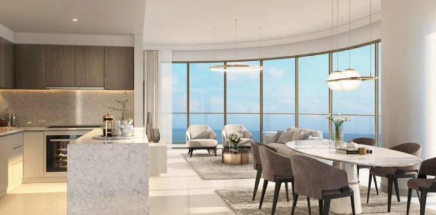 Квартира в Dubai Harbour, Дубай, ОАЭ 2 спальни, 116м2, №1371