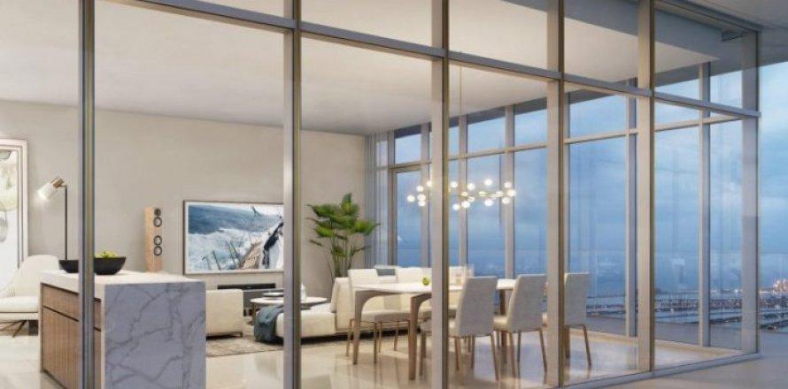 Квартира в Dubai Harbour, Дубай, ОАЭ 3 спальни, 188м2, №1370