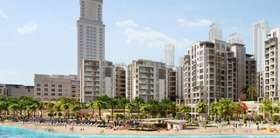 Квартира в Dubai Creek Harbour (The Lagoons), Дубай, ОАЭ 3 спальни, 152м2, №1539