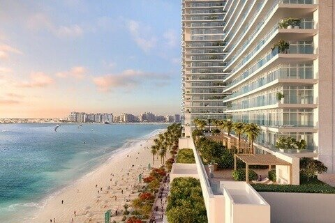 Продажа квартиры в Dubai Harbour, Дубай, ОАЭ 2 спальни, 111м2, № 1466 - фото 1
