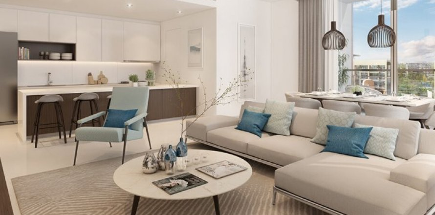 Квартира в Дубай Хилс Эстейт, Дубай, ОАЭ 2 спальни, 126м2, №1523