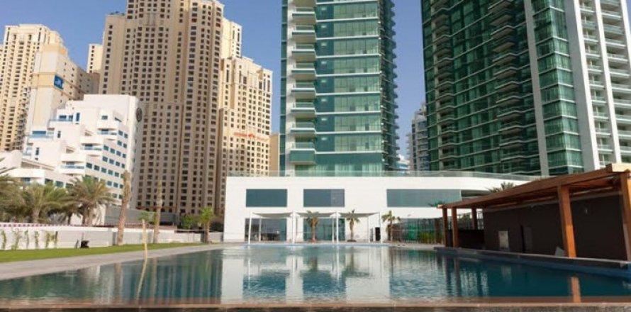 Квартира в Джумейра Бич Резиденс, Дубай, ОАЭ 2 спальни, 160м2, №1681