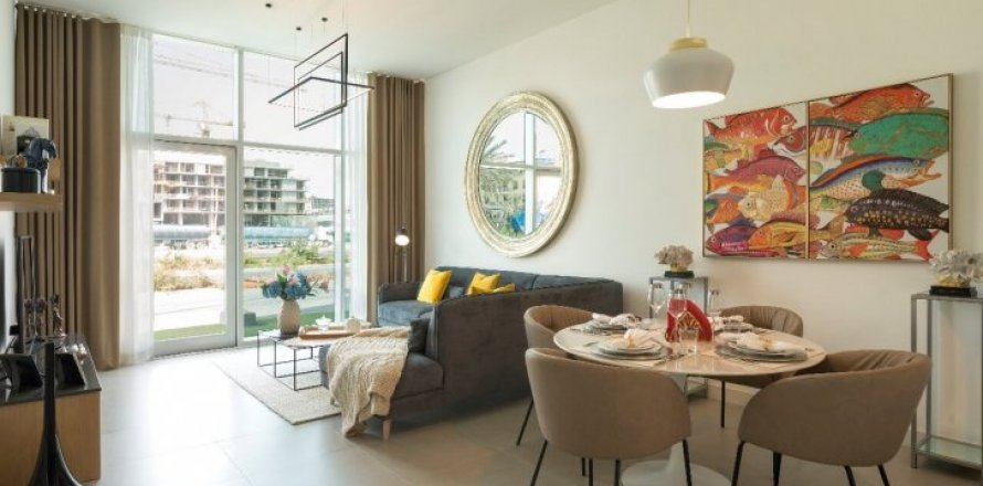 Квартира в Джумейра Вилладж Серкл, Дубай, ОАЭ 1 спальня, 71м2, №1607