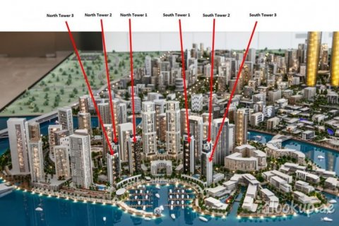 Продажа квартиры в Dubai Creek Harbour (The Lagoons), Дубай, ОАЭ 3 спальни, 200м2, № 1419 - фото 2