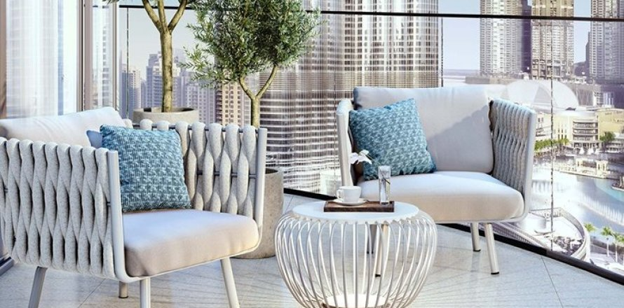 Квартира в Даунтауне Дубая, Дубай, ОАЭ 3 спальни, 173м2, №1424