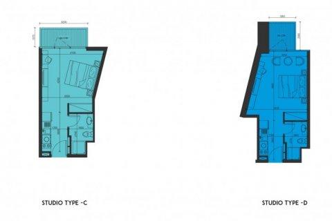 Продажа квартиры в Джабаль-Али, Дубай, ОАЭ 1 спальня, 29м2, № 1377 - фото 10