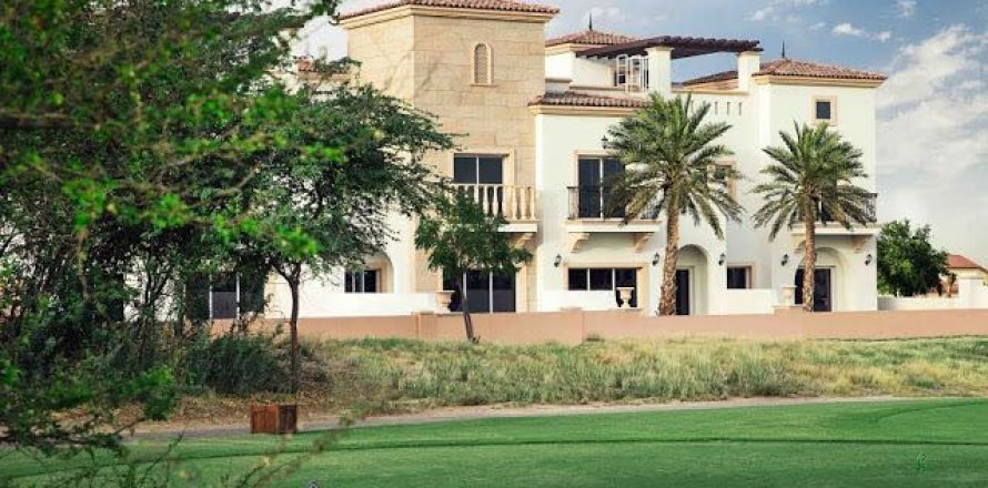 Таунхаус в Джумейра Гольф Эстейтс, Дубай, ОАЭ 4 спальни, 358м2, №1614