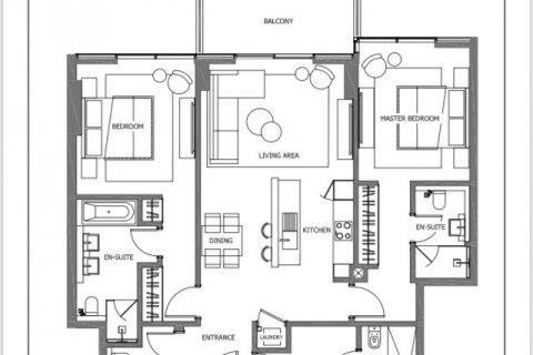 Продажа квартиры в Пальме Джумейре, Дубай, ОАЭ 2 спальни, 145м2, № 1535 - фото 14