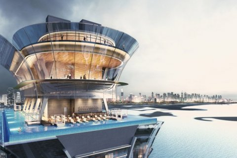 Продажа квартиры в Пальме Джумейре, Дубай, ОАЭ 1 спальня, 98м2, № 1446 - фото 1