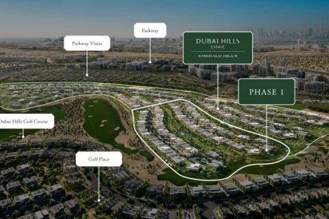 Продажа земельного участка в Дубай Хилс Эстейт, Дубай, ОАЭ, № 1428 - фото 1