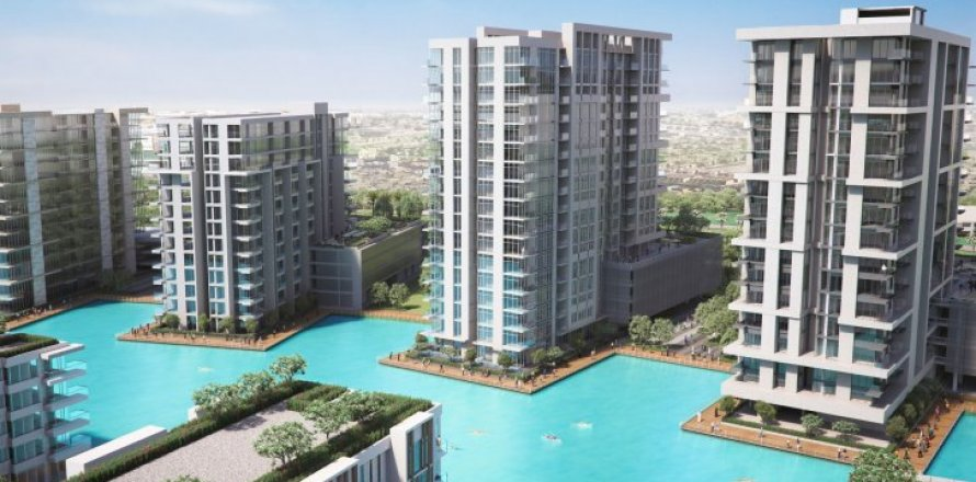 Квартира в Мохаммед Бин Рашид Сити, Дубай, ОАЭ 1 спальня, 74м2, №1653