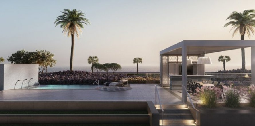 Квартира в Пальме Джумейре, Дубай, ОАЭ 3 спальни, 983м2, №1473