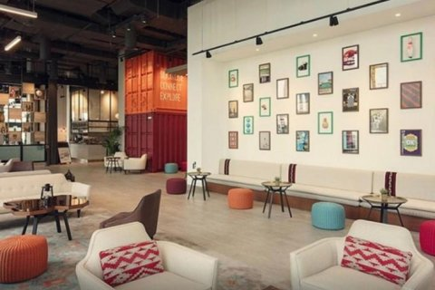 Продажа апартаментов в отеле в Дубае, ОАЭ 25м2, № 1572 - фото 8