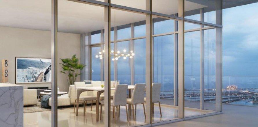 Квартира в Dubai Harbour, Дубай, ОАЭ 3 спальни, 183м2, №1454