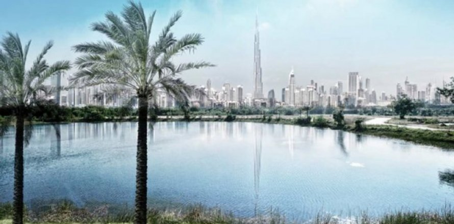 Таунхаус в Дубай Хилс Эстейт, Дубай, ОАЭ 3 спальни, 210м2, №1512