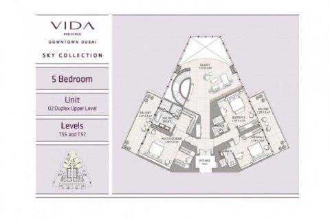 Продажа пентхауса в Даунтауне Дубая, Дубай, ОАЭ 5 спален, 669м2, № 1585 - фото 8