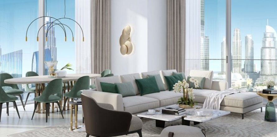 Квартира в Даунтауне Дубая, Дубай, ОАЭ 2 спальни, 138м2, №1417