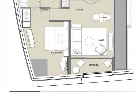 Продажа квартиры в Дубай Марине, Дубай, ОАЭ 1 спальня, 70м2, № 1961 - фото 9