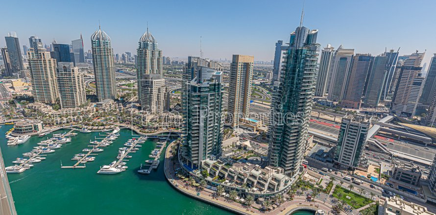 Квартира в Дубай Марине, Дубай, ОАЭ 3 спальни, 167.7м2, №3309