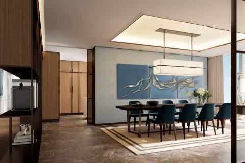 Apartment in Downtown Dubai (Downtown Burj Dubai), Dubai, UAE 3 bedrooms, 145.4 sq.m. № 196 - photo 1