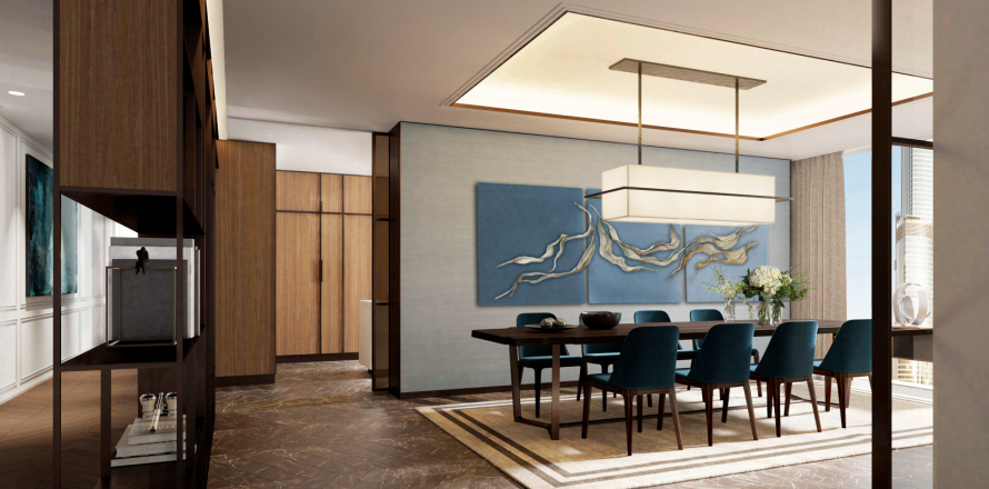 Apartment in Downtown Dubai (Downtown Burj Dubai), Dubai, UAE 3 bedrooms, 145.4 sq.m. № 196