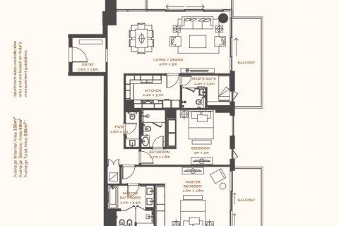 Apartment on the Saadiyat Island, Abu Dhabi, UAE 2 bedrooms, 169.92 sq.m. № 869 - photo 12