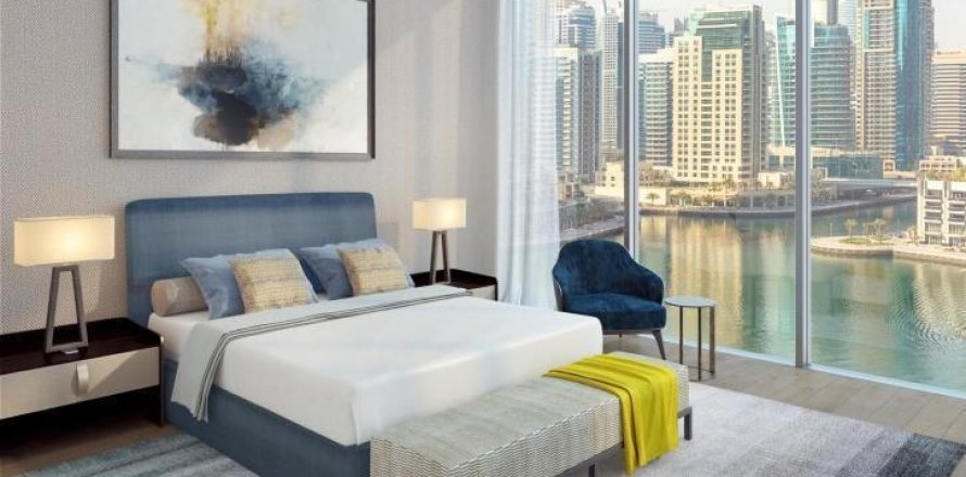 Apartment in Dubai Marina, Dubai, UAE 88 sq.m. № 1731