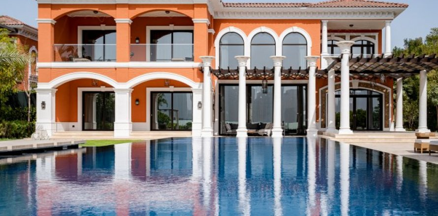 Villa in Palm Jumeirah, Dubai, UAE 7 bedrooms, 1130 sq.m. № 1365