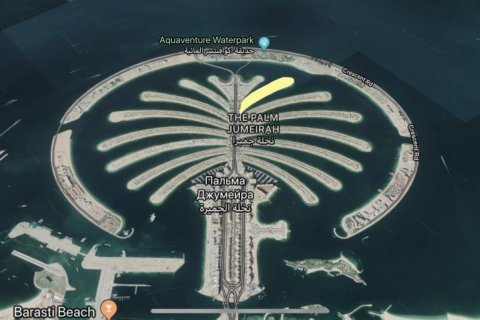 Land in Palm Jumeirah, Dubai, UAE № 1755 - photo 1