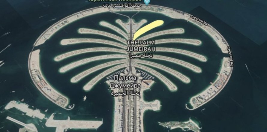 Land in Palm Jumeirah, Dubai, UAE № 1755