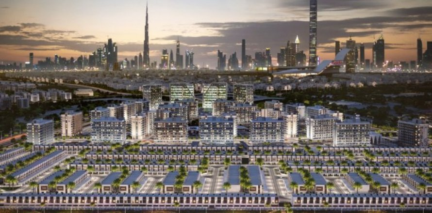 Townhouse in Mohammed Bin Rashid City, Dubai, UAE 3 bedrooms, 189 sq.m. № 1542