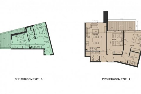 Apartment in Jebel Ali, Dubai, UAE 1 bedroom, 29 sq.m. № 1377 - photo 14