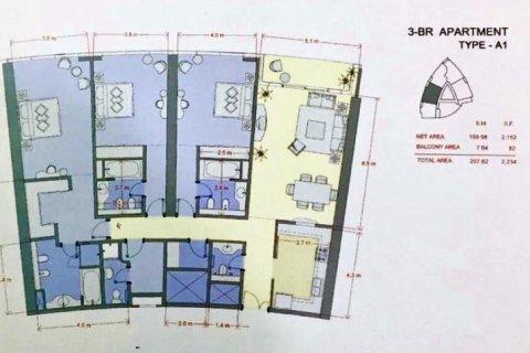 Apartment in Dubai Marina, Dubai, UAE 3 bedrooms, 208 sq.m. № 1686 - photo 11