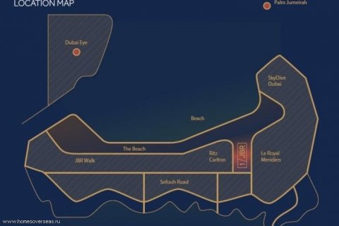 Apartment in Jumeirah Beach Residence, Dubai, UAE 2 bedrooms, 180 sq.m. № 1737 - photo 13