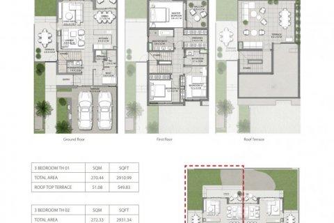 Villa in Dubai Hills Estate, Dubai, UAE 3 bedrooms, 272 sq.m. № 1558 - photo 9