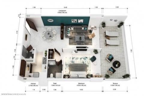 Apartment in Dubai, UAE 1 bedroom, 105 sq.m. № 1771 - photo 15