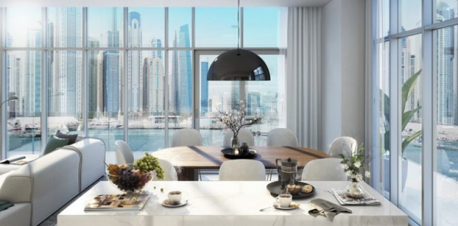 Apartment in Dubai Harbour, Dubai, UAE 3 bedrooms, 143 sq.m. № 1430